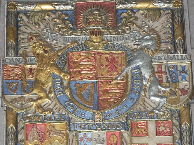 Hommage aux morts de l'Empire britannique (Cathédrale)
