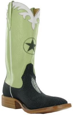 Black & green Rios of Mercedes Cowboy Boots