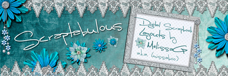Scraptabulous-Digital Scrapbook Layouts by Melissa G.