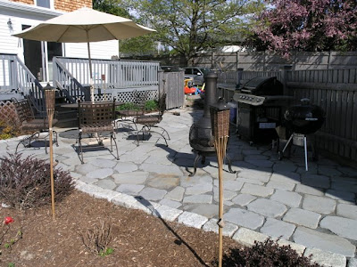 A Few More Views Of The Almost Finished Flagstone Stone Patio. I Have Plans  To Possibly Add Some Semi Cement Like Sand Between The Stones, But Iu0027m Okay  With ...