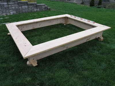 Dover projects how to build a sandbox with seats for Sandbox with built in seats plans