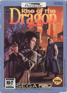 Игра Rise of the Dragon