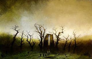 Аббатство в дубовом лесу, Каспара Давида Фридриха