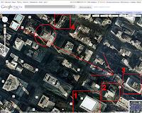 Небоскребы Нью-Йорка в Гугл мап