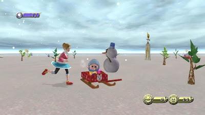 Снеговик в видеоиграх