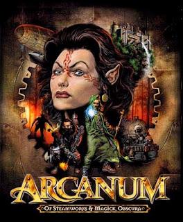 Игра Арканум Arcanum и стимпанк