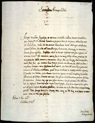 Письмо Атанасиуса Кирхера