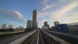 Виртуальные путешествия на поезде - Токио, Япония