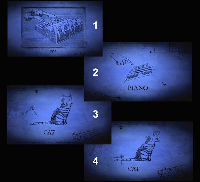 Устройство кошачьего пианино