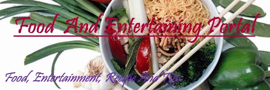 Food & Entertaining Portal