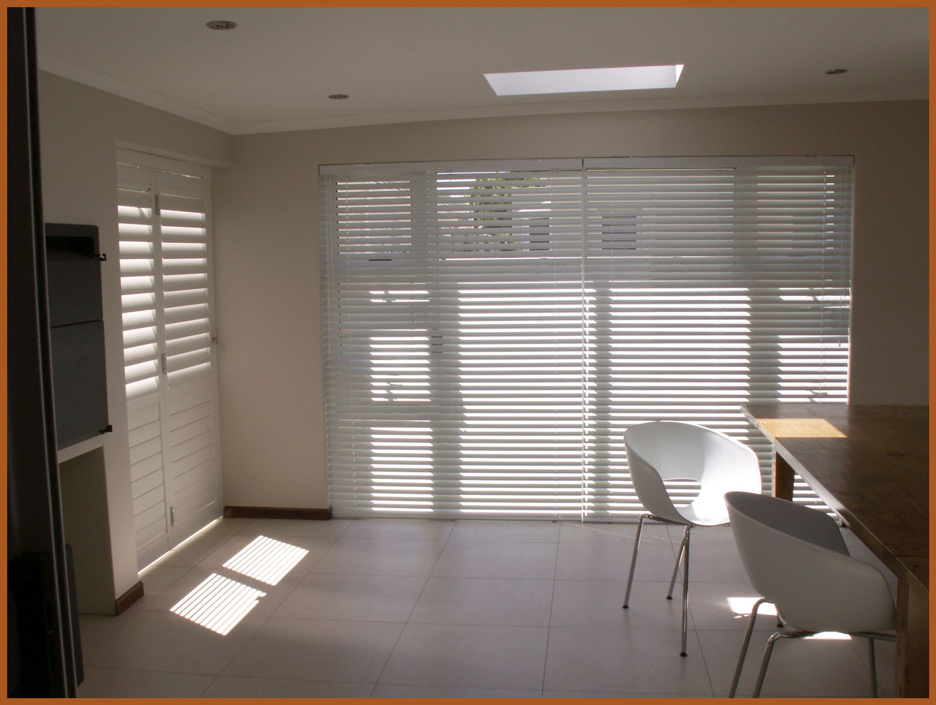 Anderson Sliding Doors with Blinds