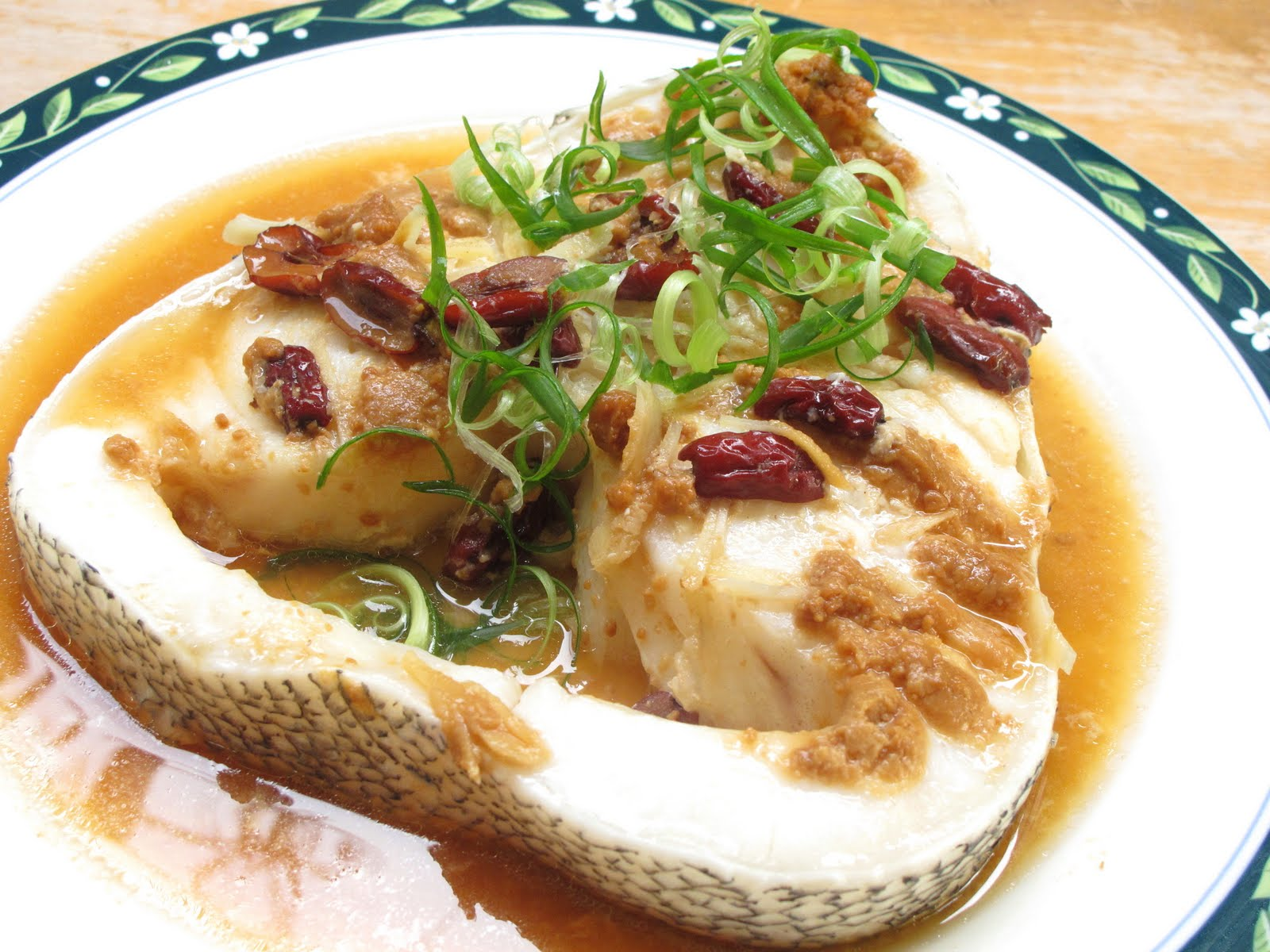 Nasi lemak lover steamed miso cod fish thank you to bo for Miso sauce for fish