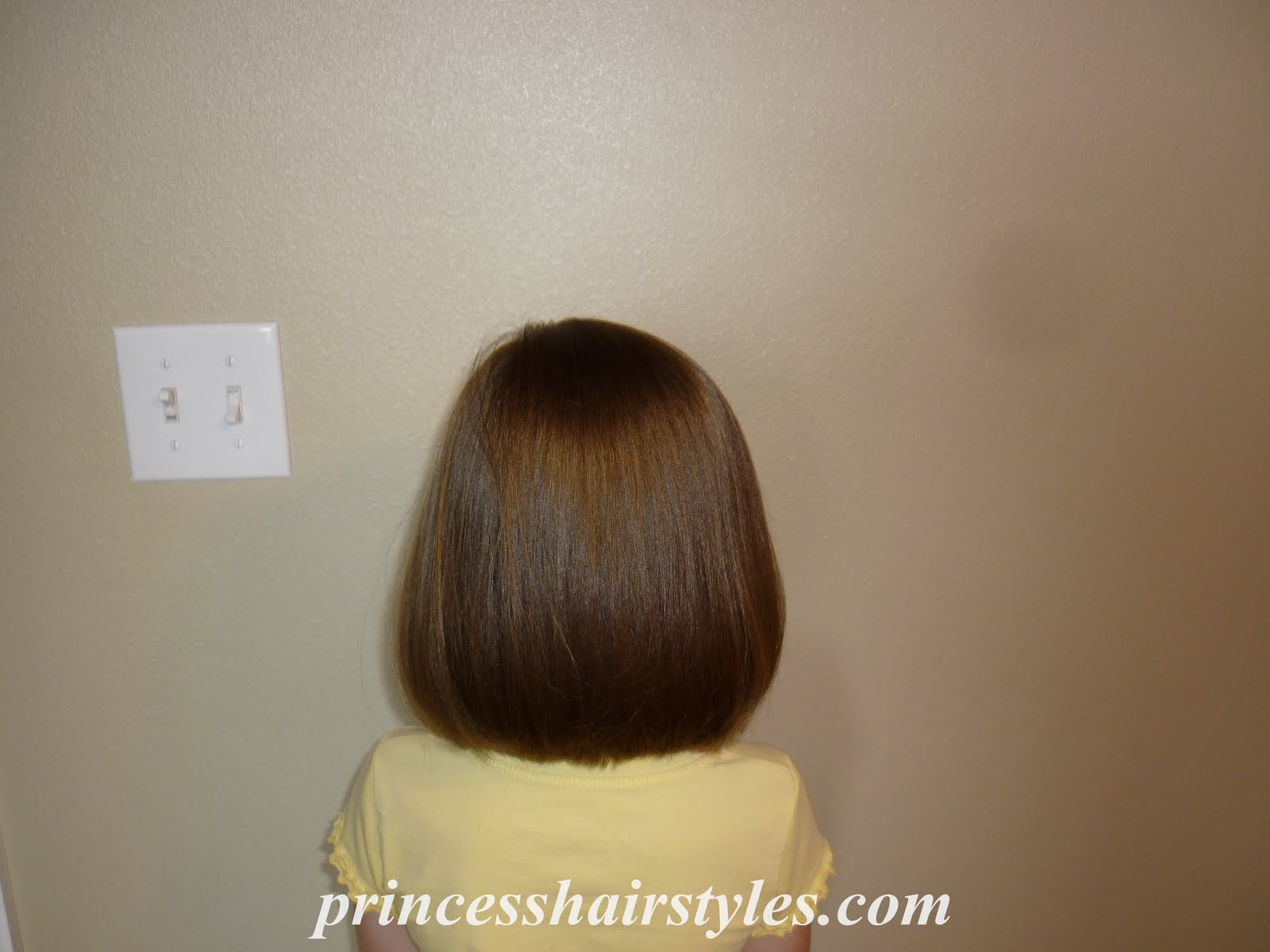 """Little Girl A Line Haircuts """"a line"""" haircut after:"""