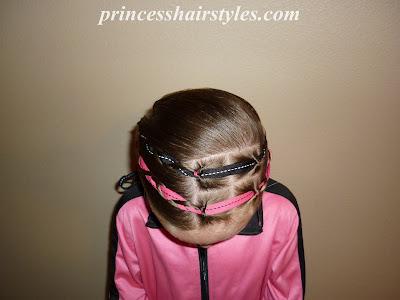 ribbon hair style