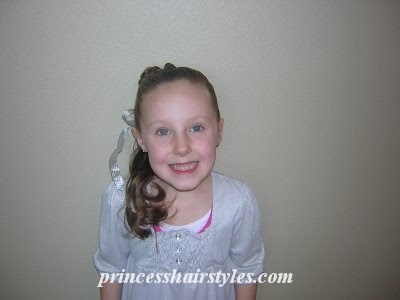 cute little girls hairstyle