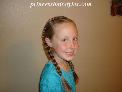cute girls hair style