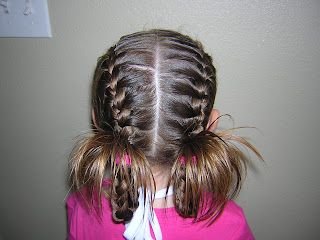 baptism hairstyle