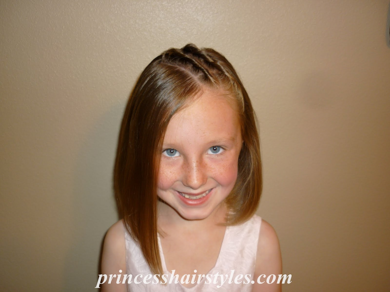 Cute Hairstyles for Little Girls Short Hair