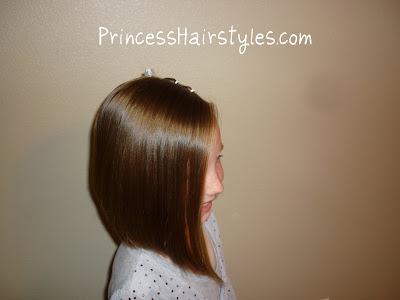 a line hair cut