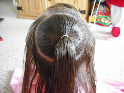 Easter Hairstyles For Adults : An easter dress and fancy hair ! hairstyles for girls