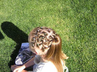 woven hair