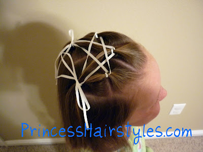 star made from ribbon