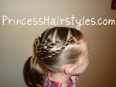 sporty hairdo