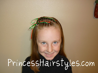 Christmas Hairstyle with braids