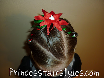 easy holiday hair