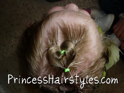 baby valentine's hair style