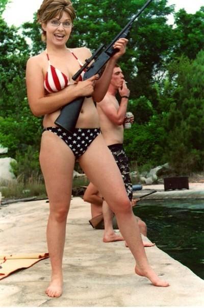 sarah palin Cuba Swimsuit