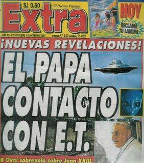 Resultado de imagen para JOHN XXIII OVNI