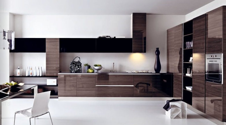 Contemporary-elegant-kitchen-home-interior-design-with-luxury-wooden-kitchen-area-design-and-with-interesting-kitchen-decoration-design.