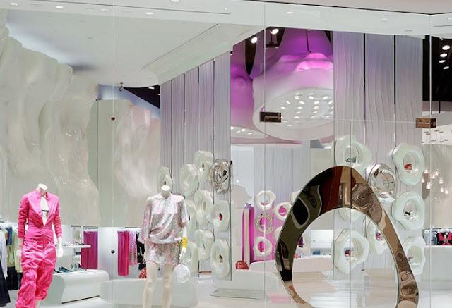 P T Sz Bels P T Sz Blog Futuristic Retail Interior
