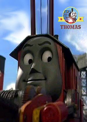 Best friend of Cranky Rocky crane the strongest iron man lifter of Sodor Island pine tree wood logs