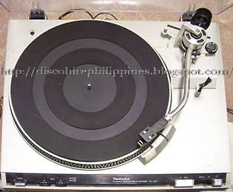 Vintage turntable system high degree precision build Dj Technics LS220 aluminium die-cast plate