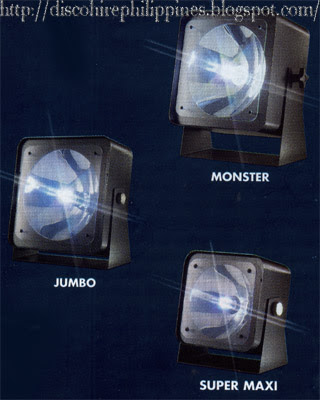 Hire equipment Philippines flashing strobe dj lights and controllers Monster Jumbo and Super Maxi