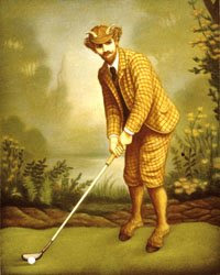 immortal vampire new moon monster man golfing