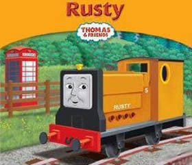 Train trusty Rusty the tank engine will always come to the rescue and saves the day on Sodor Island