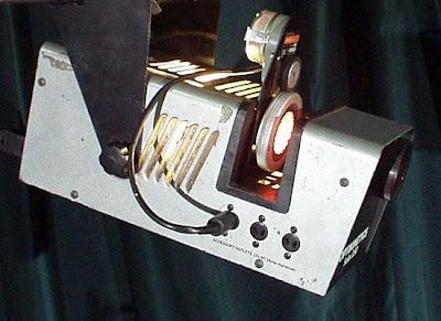 Disco hire projector light optikinetics solar 250 pic