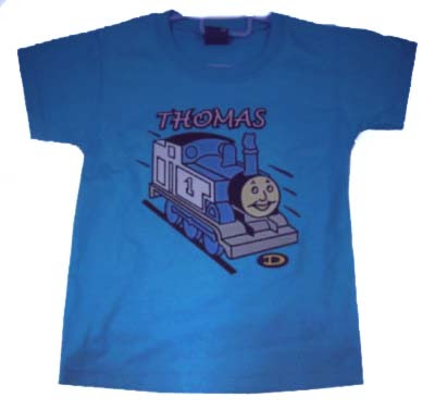 blue custom shirt thomas tank clothing pic