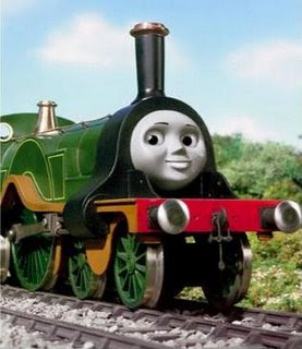 Thomas and friends green engine Emily the tank engine