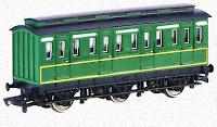Sodor railway Thomas and friends Emily green coaches