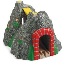 Compatible with brio wooden railway tunnel picture
