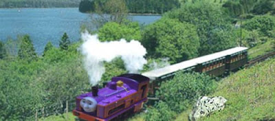 Thomas and friends Culdee Fell Railway mountain line