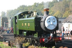 Train duck the tank engine is a great westen trains