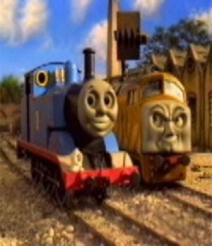 Thomas tank and Diesel 10 Engine.