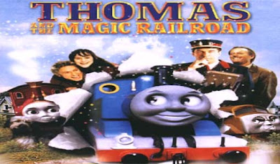Thomas and magic railroad logo title