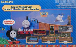 deluxe thomas with annie and clarabel trian set