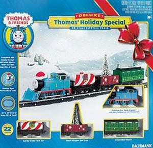 Tank engine Thomas Holiday Special Set by Bachmann